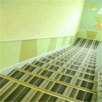 China Waterproof Woven Vinyl Flooring , Fire Proof Woven Pvc Flooring For Stairs on sale