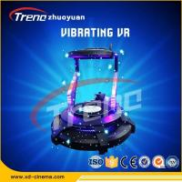 China Standing - up Comfortable Vibration Experience One Player VR Game Machine , Kids 9d Cinema Simulator wholesale