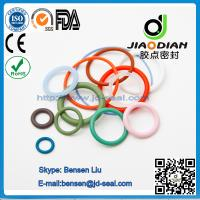 China Viton O Rings of size range AS 568, JIS2401 on Short Lead Time with SGS CE ROHS FDA Cetified(O-RINGS-0079) wholesale