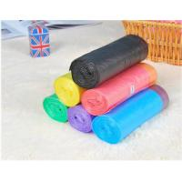 China HDPE Packaging Home Garbage Bags , Drawstring Trash Can Liners Customized Size wholesale