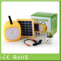 China Wholesale with radio funtion outdoor hanging rechargeable camping led lantern wholesale
