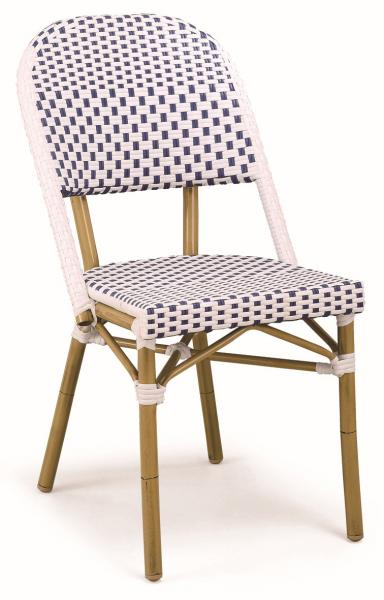 Quality LJC219 new outdoor rattan furniture coffee shop chair for sale