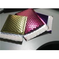 China 4 Layers Rose Gold Bubble Mailers , 380x330 #B4 Metallic Glamour Mailers wholesale