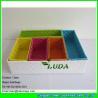 China LDKZ-044  Fasion steel frame storage box pp strap woven storage basket for organization wholesale