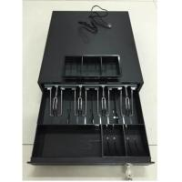 China Long Time Small Square Terminal Cash Drawer With Black Finish For POS System on sale