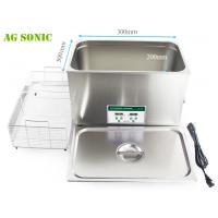 China 600W Laboratory Ultrasonic Cleaner 30L With Digital Timer And Heater AG - 30D wholesale