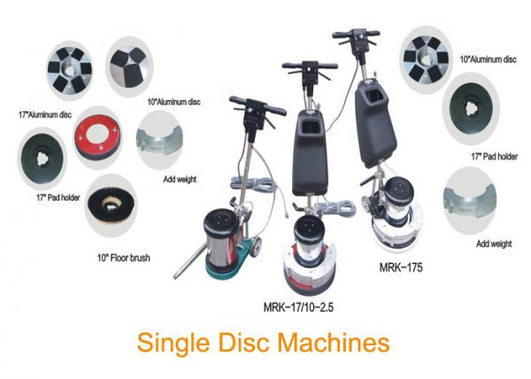 Quality Single Disc Floor Scrubber Polisher For Marble Crystallization And Polishing for sale