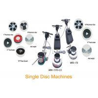 Single Disc Floor Scrubber Polisher For Marble Crystallization And Polishing