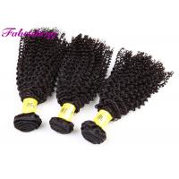 China Tangle Free Virgin Peruvian Hair Weave / Peruvian Virgin Human Hair 3 Bundles Curly wholesale