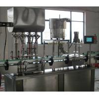 China Automated Mayonnaise Glass Bottle Filling Machine Aseptic Filling Line , CE Approval wholesale