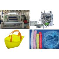 China SMS PP Spunbond Nonwoven Fabric Production Line / Equipment automatic bag Making wholesale