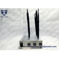 China Smart Mobile Cell Phone Jammer WiFi Bluetooth /5g/GPS/Lojack/UHF/VHF Drone Signal Jamming wholesale