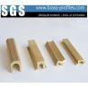 China Anti Burglar Lock Profiles For Sliding Decorative Copper Material wholesale