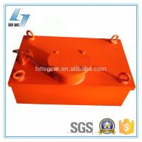 China Suspended Manual Discharge Magnetic Metal Separator on sale