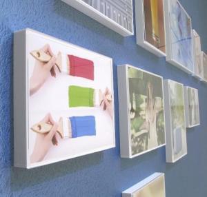 China Acrylic Magnetic Photo Frame 4 X 6 , Acrylic Block Photo Frame Non - Toxic wholesale