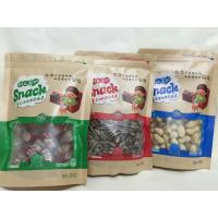 China Resealable Dried Fruits Plastic Pouch Bag With Rectangular Window wholesale