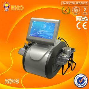 China vacuum cavitation system RU+5 ultrasonic cavitation rf vacuum slimming machine(EHO/factory) wholesale