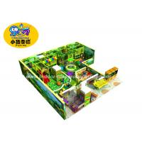 China Anti - Static Plastic Castle Theme Kids Indoor Soft Play Areas For Amusement Park wholesale