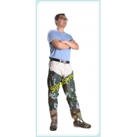 China FQT1902 Army-Camouflage PVC Skidproof Underwater Outdoor Fishing Waders with Rain Boots wholesale