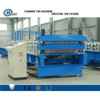 China Custom Metal Roof Panel Double Layer Roll Forming Machine , Roof Tile Making Machine wholesale