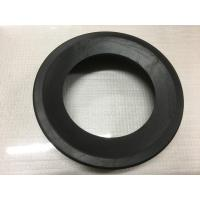 Round Black Durable Toilet Fittings , Toilet Rubber Gasket 30-90 Shore Hardness for sale
