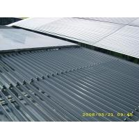China Aerofoil Aluminum Retractable Louvered Roof Systems Building Facade Light Control wholesale
