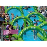 China Inflatable slide the city wholesale