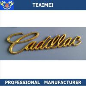 China Chrome Body Custom Car Emblems Auto Badges Emblems For Cadillac wholesale