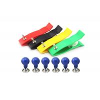 Buy cheap Copper Nickel Plating Clamp 6pcs , Suction Ecg Ekg Cable Accessories For Adult from wholesalers