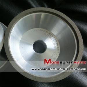 China 11V9  100mm Superabrasive wheel resin diamond grinding wheel for CNC tool grinder  gina@moresuperhard.com on sale