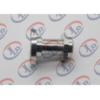 China CNC Finishing Milling Metal Machined Parts 7075 T6 Aluminum Bolts And Nuts wholesale