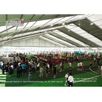 China 50m Clear Span Sport Event Tent  With Glass Wall Sidewalls For Sport Event wholesale