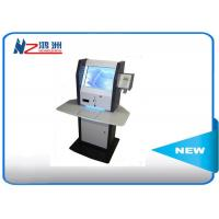 China LCD multimedia display self service information kiosk with desktop visitor management system wholesale