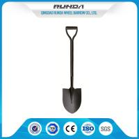 China One Tube Handle Steel Spade Shovel 2.2kg 1000MM Total Length For Snowing wholesale