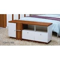 China 1.3m Simple Modern Style White TV Unit TV Stand With Three Drawers on sale