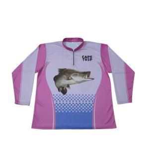 Quick Dry Long Sleeve Dri Fit Fishing Shirts, Sport Fishing T Shirts Anti - Pilling