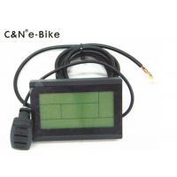 China Cruise Function KT3 Electric Bike LCD Display Front And Rear Lighting Control wholesale