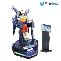 China Funin VR Interactive VR entertainment Center Flight VR Game Machine 9D Virtual Reality wholesale