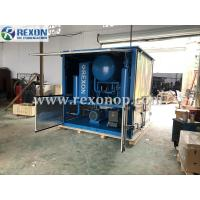 China Weather Proof Type High Vacuum Dehydration Electric Insulating Oil Purifier Machine 9000LPH on sale