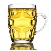 China Big Beer Mug Whiskey Glass Cups Classical One Dollar Glass 290ml 550ml on sale