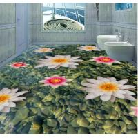 China Fashion The earth Design Eco-Friendly Waterproof Bedroom Art Decor 3d Floor Stickers wholesale