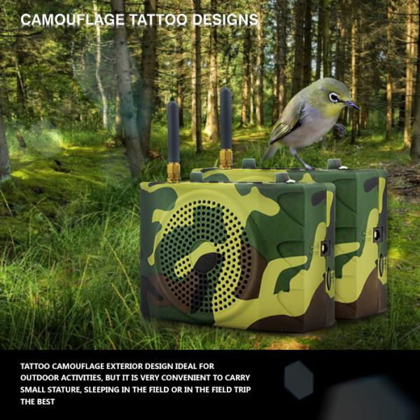 Quality Russia camouflage color outdoor sport speaker with remote control for sale