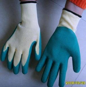 China Natural Latex Coated Glove wholesale