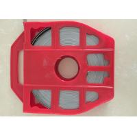 China High Tensile Steel Strapping Belt , Metal Banding Strap With Red Plastic Dispenser wholesale