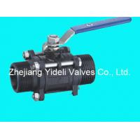 China Sell 3PC Full Bore Carbon Steel Ball Valve wholesale