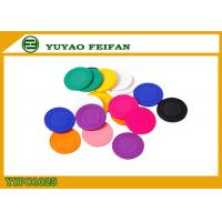 China Colorful Feifan Style Clay Material Custom Design Poker Chips 8g 40 X 3.3mm wholesale