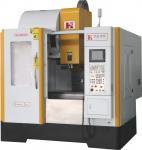 China 3 Axis MITSUBISHI / FANUC CNC Vertical Machining Center, Linear Guide Way wholesale
