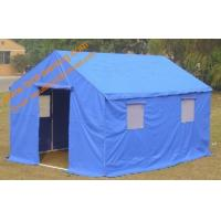 China Multifunction Emergency Refugee Steel Frame  Waterproof  Disaster Relief Tent wholesale
