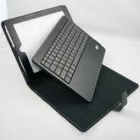 Leather Case for iPad 2 Leather Ipad soft Case with Bluetooth keyboard Solar Charger