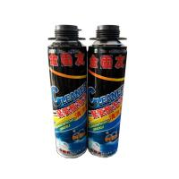 China 600ml Polyurethane Foam Cleaner For Removing Uncured Pu Foam Good Dissolving Force on sale